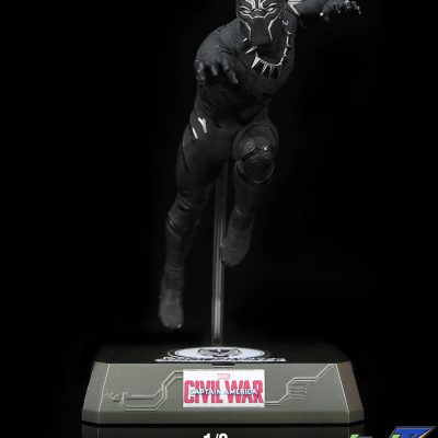 KING ARTS FFS007 KING ARTS 1/9 CAPTAIN AMERICA: CIVIL WAR - BLACK PANTHER